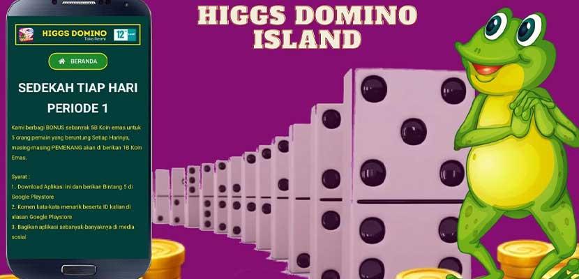 Sedekah Chip Higgs Domino Gratis Link Cara Klaim