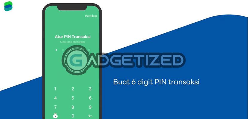Buatlah PIN Transaksi