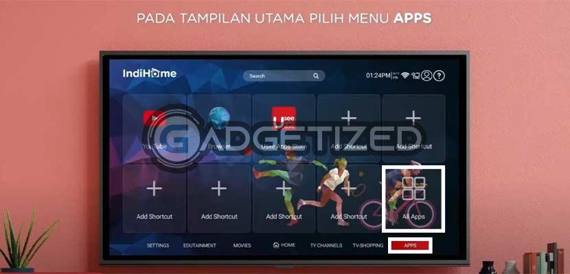 Buka Menu Apps