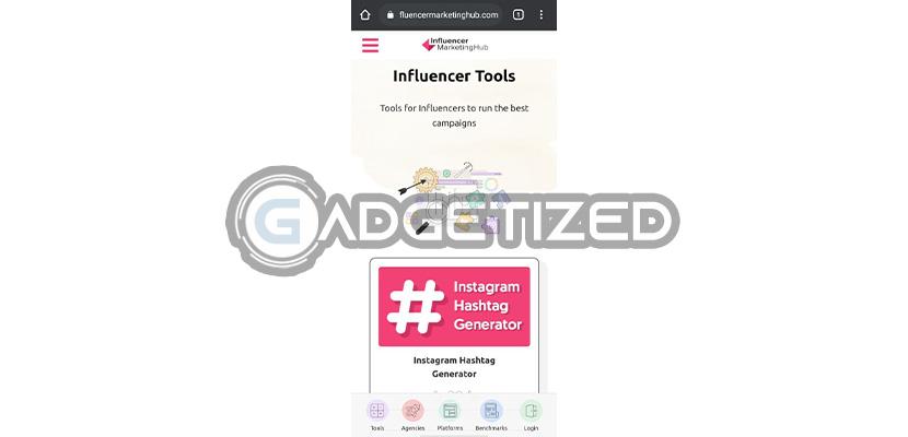 Buka Situs Resmi Influencer Marketing Hub