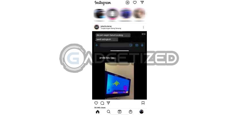 Jalankan Aplikasi Instagram
