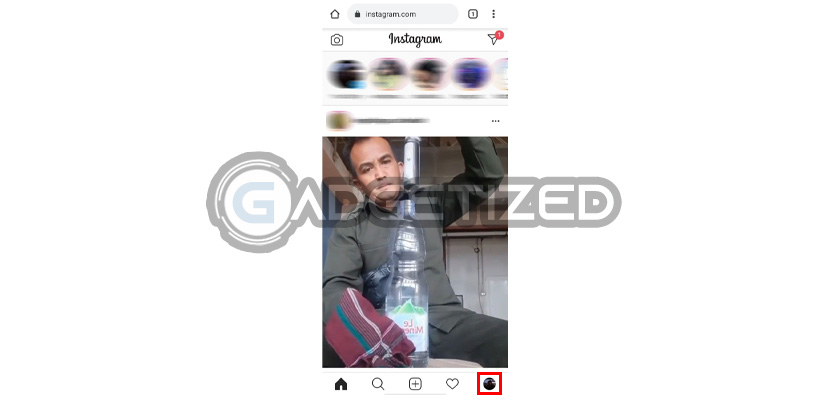 Masuk Menu Akun Instagram