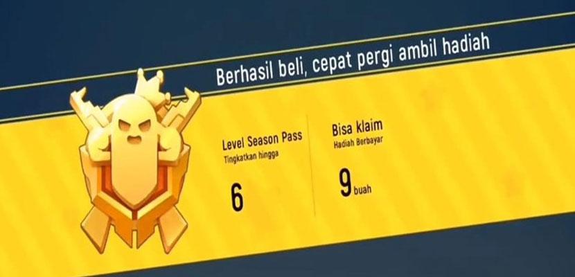 Membeli Item Season Pass