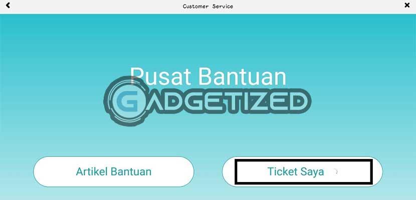 Pilih Ticket Saya