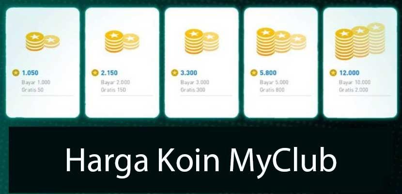Daftar Harga Koin MyClub PES 2021 Mobile