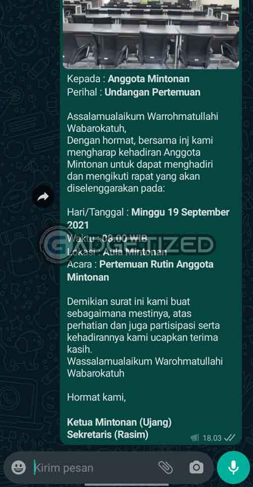 Broadcast WhatsApp Panjang Menarik