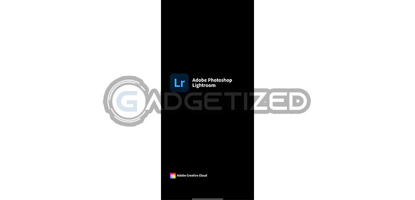 Buka Aplikasi Lightroom