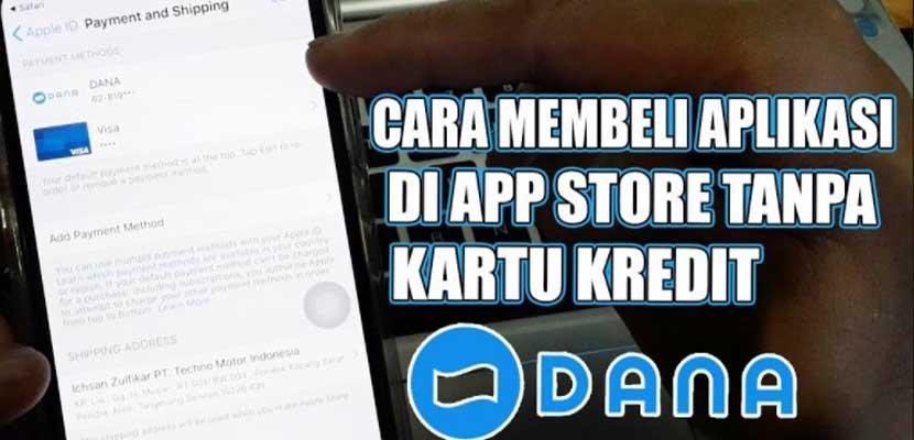 Cara Beli Aplikasi di App Store Pakai DANA
