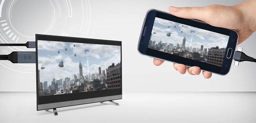 Cara Menyambungkan HP ke TV yang Tidak Support MHL