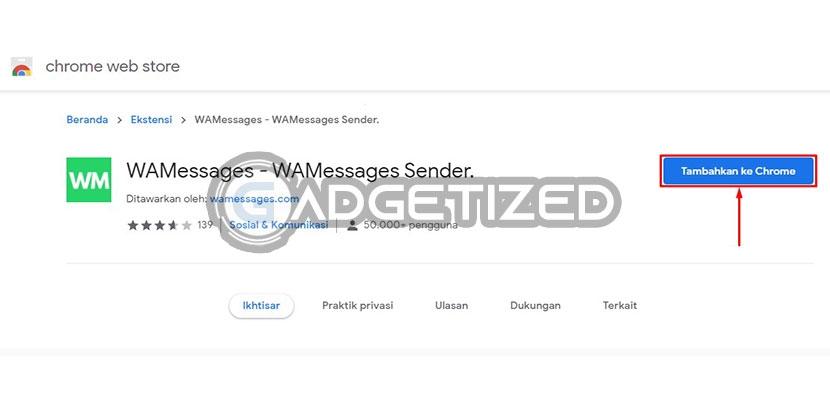 Cari Ekstensi Broadcast WhatsApp