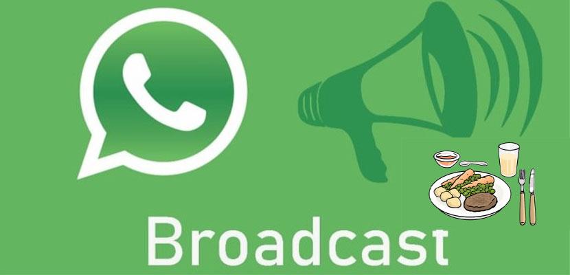 Contoh Broadcast WhatsApp Promosi Makanan
