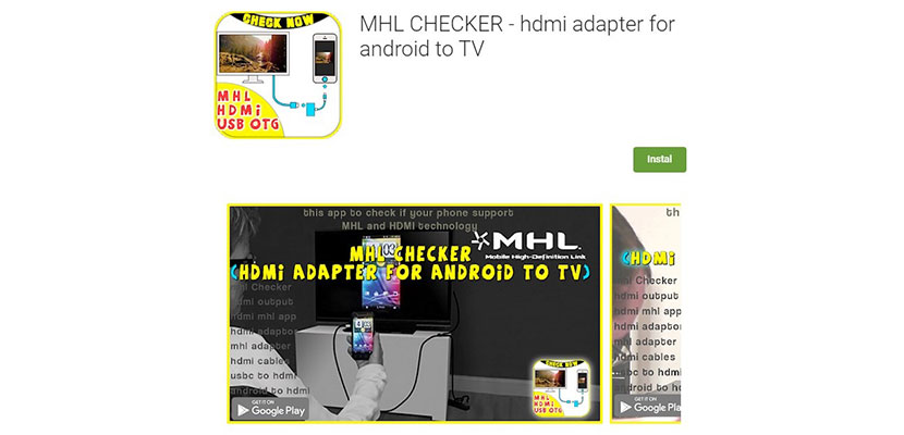 HDMI Adapter for Android to TV