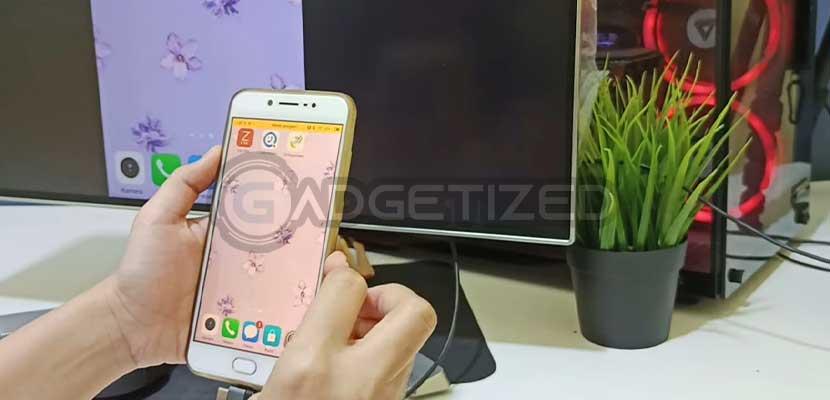 HP Android Berhasil Terhubung ke TV