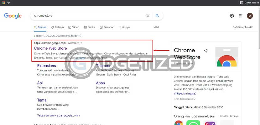 Kunjungi Situs Chrome Web Store