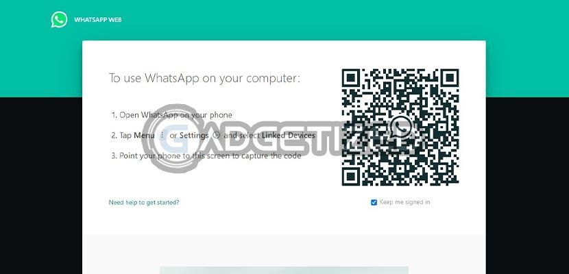 Login WhatsApp Web