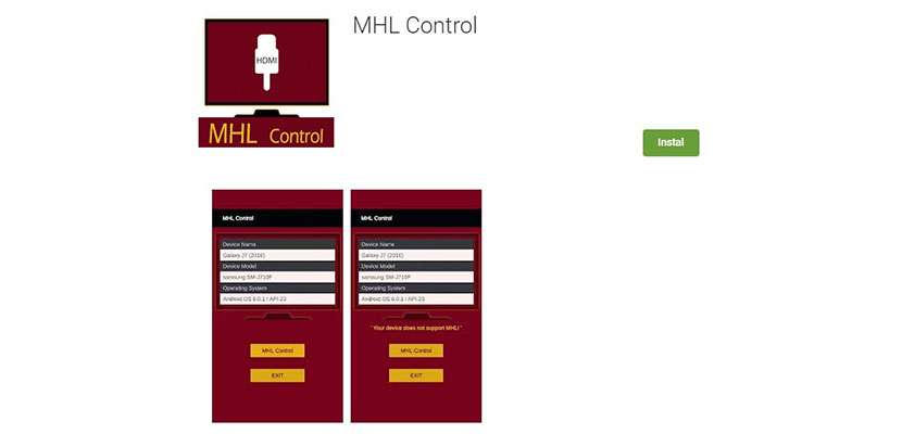 MHL Control Untuk Semua Merk HP Android