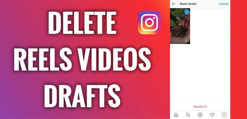 Cara Menghapus Draft Reels di Instagram Reels